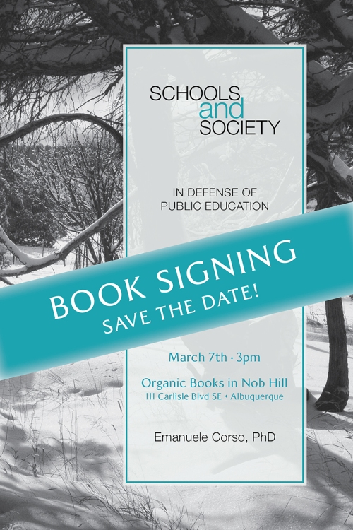 Schools and Society Save the Date reduced